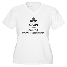 Keep calm and call the Market Researcher Plus Size