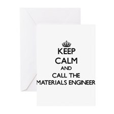 Keep calm and call the Materials Engineer Greeting