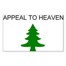 appeal to heaven flag Decal