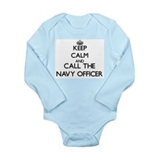Keep calm and call the Navy Officer Body Suit
