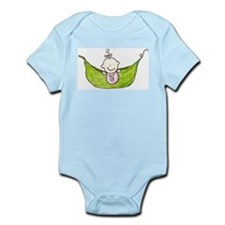 PeaPod Baby Girl Infant Creeper