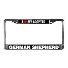 I Love My Adopted German Shepherd