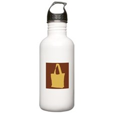 Yellow Cloth Bag Water Bottle