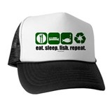 Unique Repeating Trucker Hat