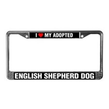 I Love My Adopted English Shepherd Dog