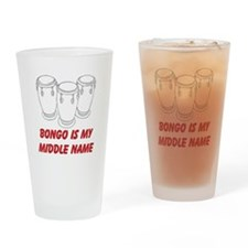 Bongo Drums Drinking Glass