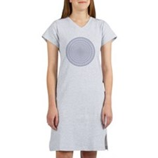 2400 Blue Pipers Women's Nightshirt