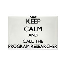 Keep calm and call the Program Researcher Magnets