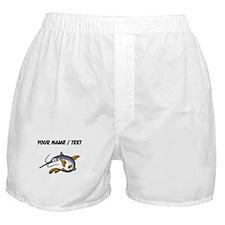 Custom Saw Fish Boxer Shorts