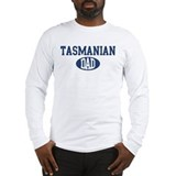 Tasmanian dad Long Sleeve T-Shirt