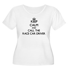 Keep calm and call the Race Car Driver Plus Size T