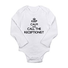 Keep calm and call the Receptionist Body Suit