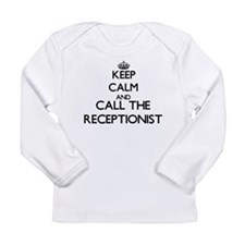 Keep calm and call the Receptionist Long Sleeve T-