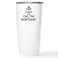 Cute Medical receptionist Travel Mug