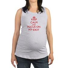 Cute Fool Maternity Tank Top