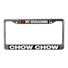 I Love My GeoCaching Chow Chow