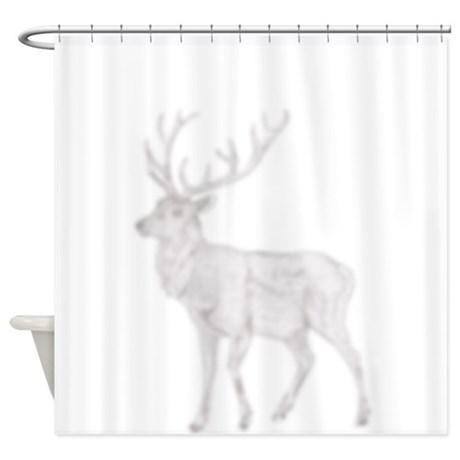 Shadow Elk Shower Curtain