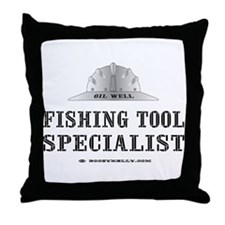 Fish Tool Spst. Throw Pillow