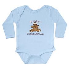 Unique Grandmas boy Long Sleeve Infant Bodysuit