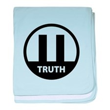 9/11 TRUTH baby blanket
