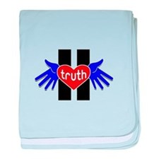 Truth Movement baby blanket