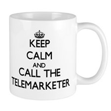 Keep calm and call the Telemarketer Mugs