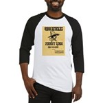 Wanted Johnny Ringo Baseball Jersey
