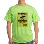 Wanted Johnny Ringo Green T-Shirt