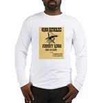 Wanted Johnny Ringo Long Sleeve T-Shirt