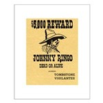 Wanted Johnny Ringo Small Poster