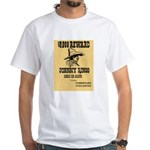 Wanted Johnny Ringo White T-Shirt