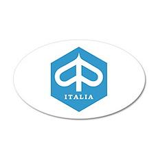 ITALIA 20x12 Oval Wall Decal