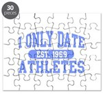 Only Date Athletes Puzzle
