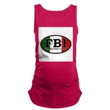 FBI.png Maternity Tank Top