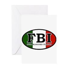 FBI.png Greeting Card