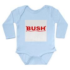 bush-dev-wht.png Long Sleeve Infant Bodysuit