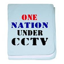 CCTV baby blanket