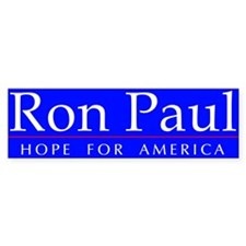 Cute Ron paul veterans Bumper Sticker