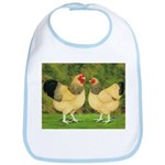 Wyandotte Rooster and Hen Bib
