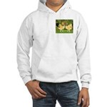 Wyandotte Rooster and Hen Hooded Sweatshirt