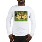 Wyandotte Rooster and Hen Long Sleeve T-Shirt