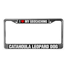 I Love My GeoCaching Catahoula Leopard Dog