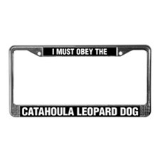 I Must Obey The Catahoula Leopard Dog
