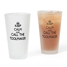Cute Tool makers Drinking Glass