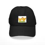 Buff Wyandotte Chickens Black Cap