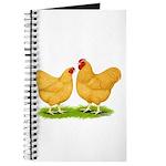 Buff Wyandotte Chickens Journal