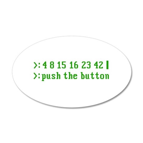 4-8-15-16-23-42-grn.png 20x12 Oval Wall Decal
