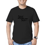 5-4-3-drive-shaft-w.png Men's Fitted T-Shirt (dark