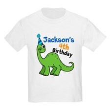 Dinosaur Birthday T-Shirt