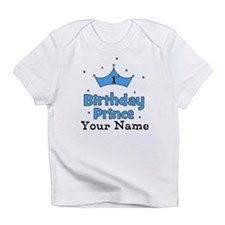 1st Birthday Prince CUSTOM Your Name Infant T-Shir